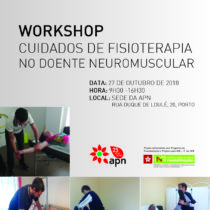 WORKSHOP:  CUIDADOS DE FISIOTERAPIA NO DOENTE NEUROMUSCULAR