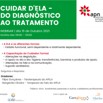 APN promove Webinar Cuidar D´ELA – Do Diagnóstico ao Tratamento